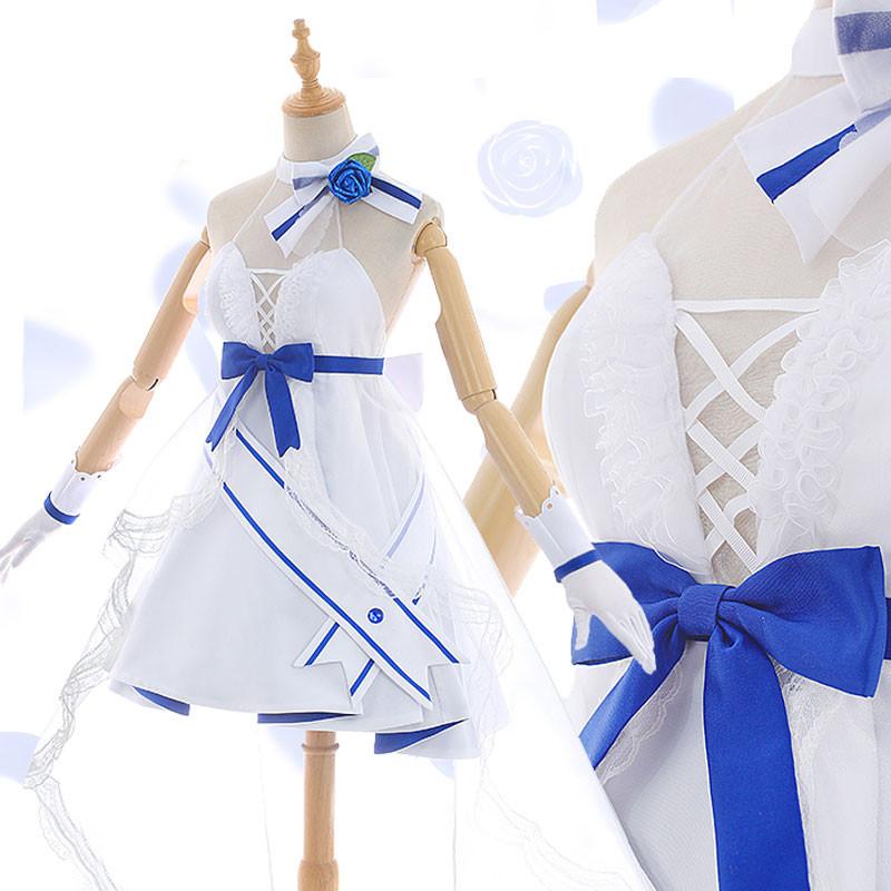 崩壊学園 崩壊3rd 雷電芽衣 ドレス ウエディングドレス コスプレ衣装