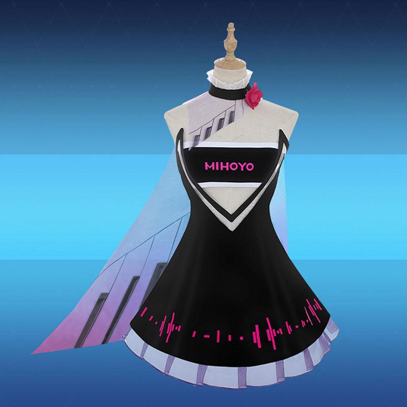 崩壞3rd キアナ·カスラナ Kiana Kaslana  崩壊世界の歌姬 コスプレ衣装