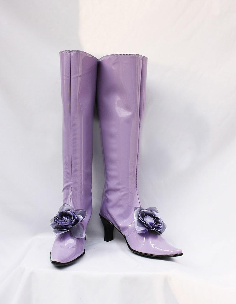 ローゼンメイデン 薔薇水晶(ばらすいしょう) コスプレ靴ブーツ