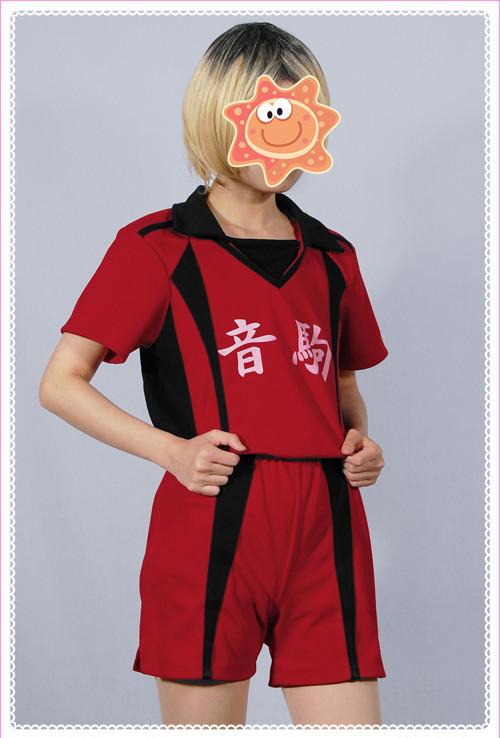 ハイキュー!! 音駒高校ユニフォーム風 孤爪研磨 コスプレ衣装