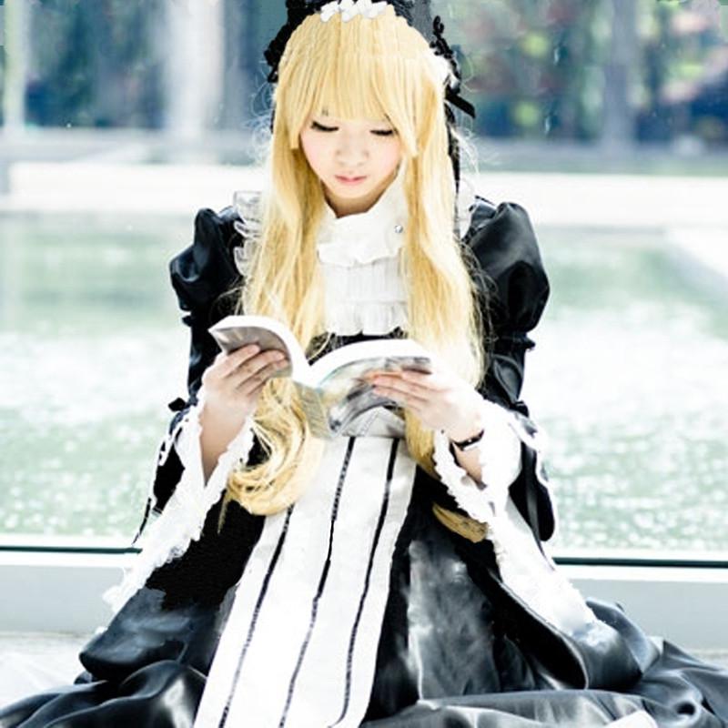プリンセス メイドドレス コスプレ メイド服 コスチューム