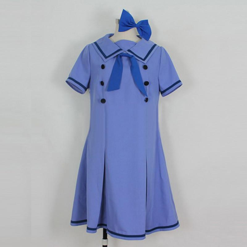 Axis Powers ヘタリア(APH) Monaco モナコ ラベンダー コスプレ衣装