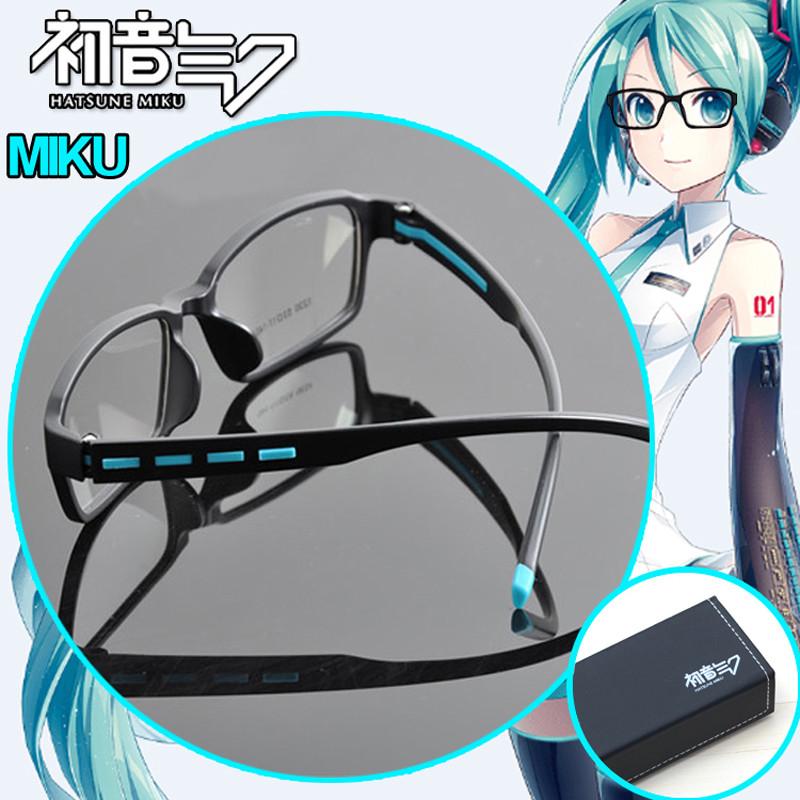 VOCALOIDボーカロイド 初音ミク MIKU メガネ 鏡音リン Rin  鏡音レン Ren 眼鏡 コスプレ道具