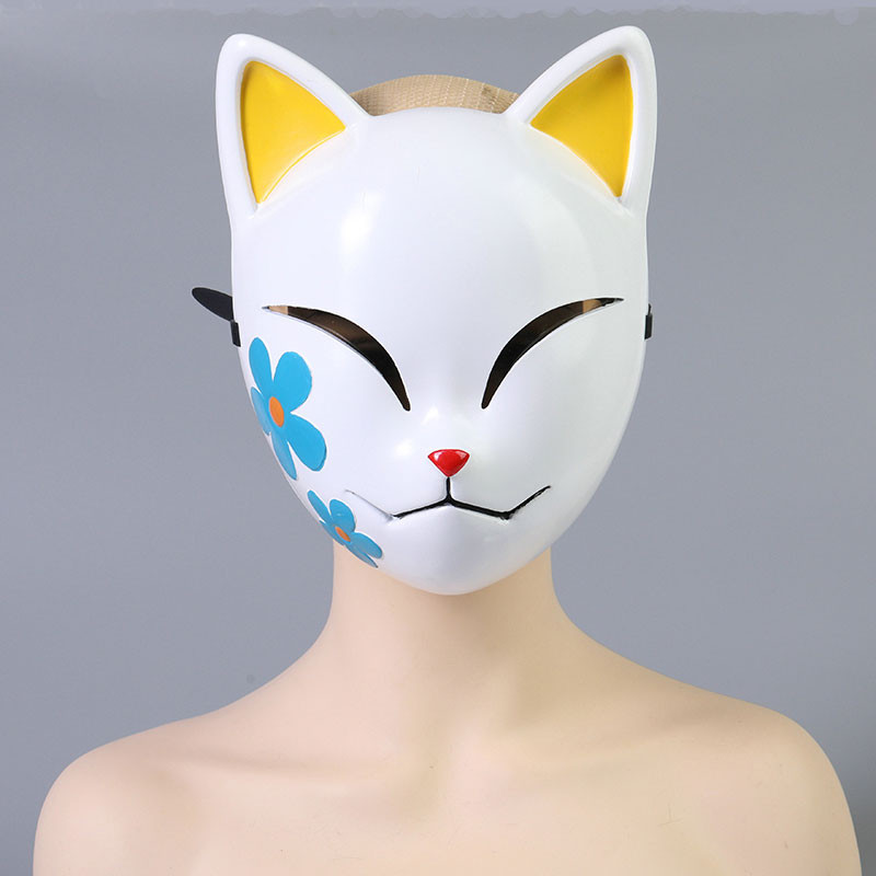 鬼滅の刃 真菰 マスク コスプレ道具 狐面 炭治郎の姉弟子