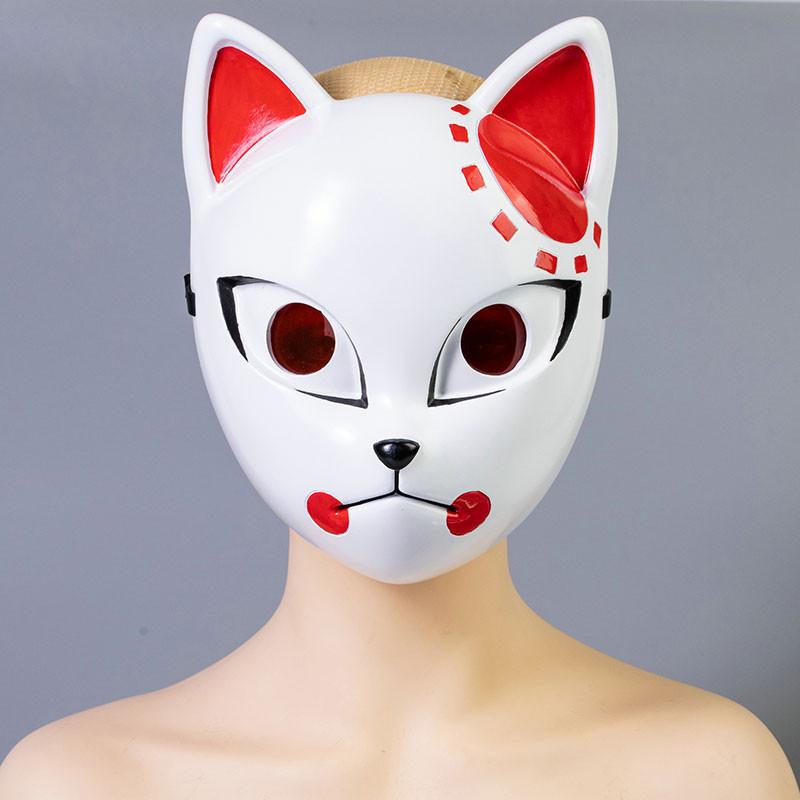 鬼滅の刃 竈門炭治郎 コスプレ道具 狐面 マスク