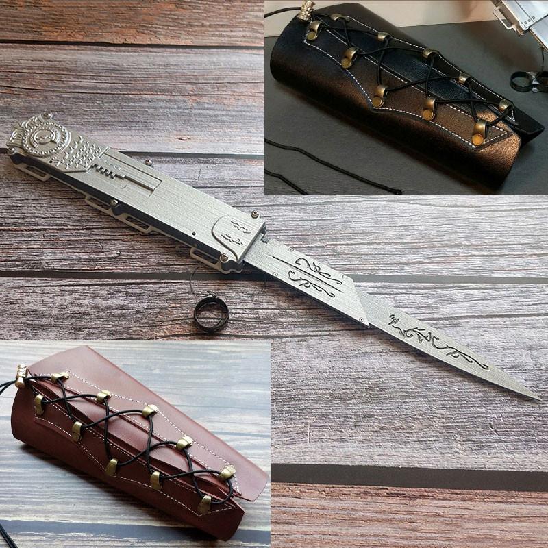 アサシン クリードⅡ エツィオ プラスチック 武器 コスプレ道具 ソード