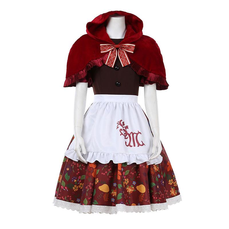 東京ディズニー Disney シェリーメイ ShellieMay 赤ずきん  ドレス 童話 コスプレ衣装