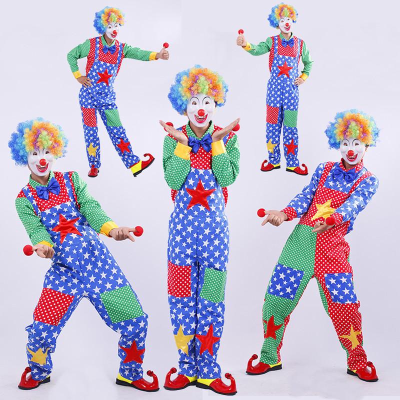 ピエロ 衣装 大人セット仮装 イベント パーティーピエロコスプレ衣装 ハロウィン 大人気衣装