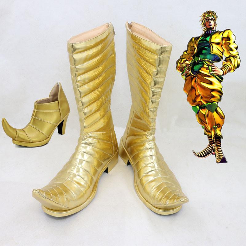 ジョジョの奇妙な冒険 コスプレ靴 ディエゴ・ブランドー  靴 PU革 DIO