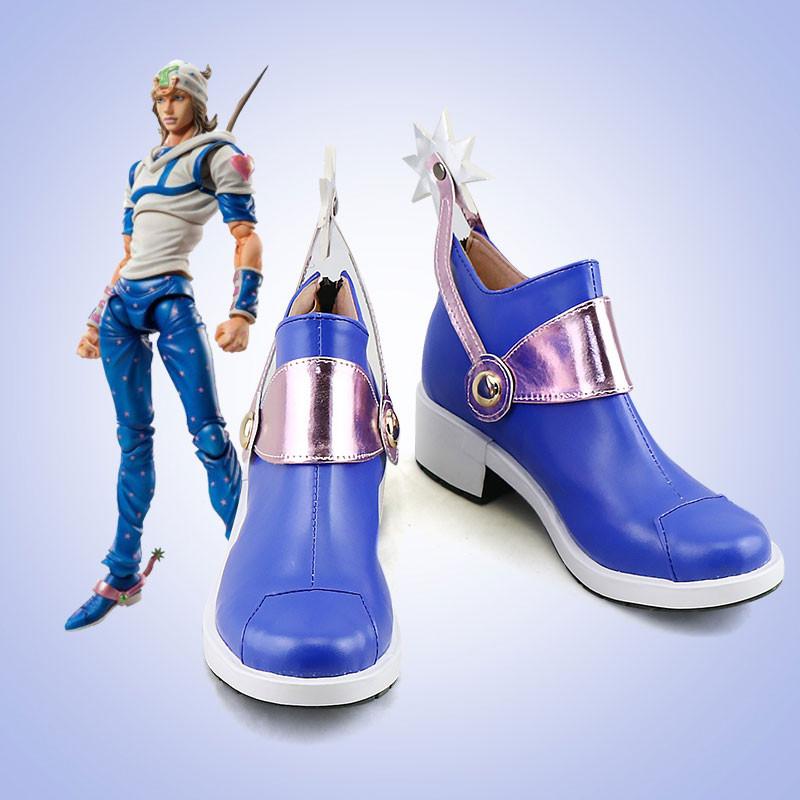 ジョジョの奇妙な冒険 ジョニィ・ジョースタ コスプレ靴 靴 道具