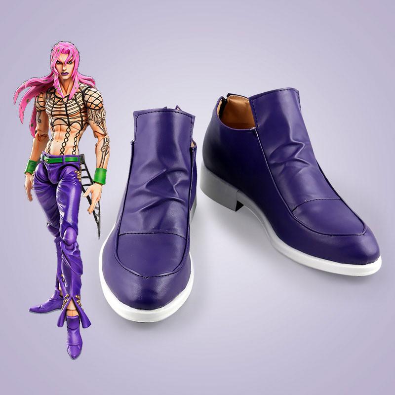 ジョジョの奇妙な冒険 ディアボロ コスプレ靴 靴 道具
