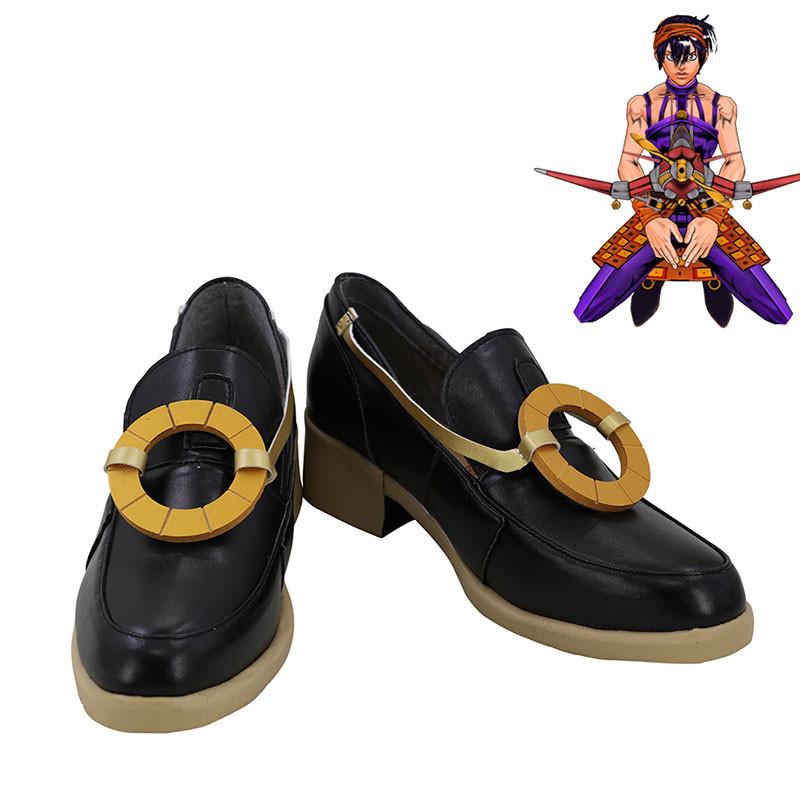 ジョジョの奇妙な冒険 ナランチャ コスプレ靴 靴 道具