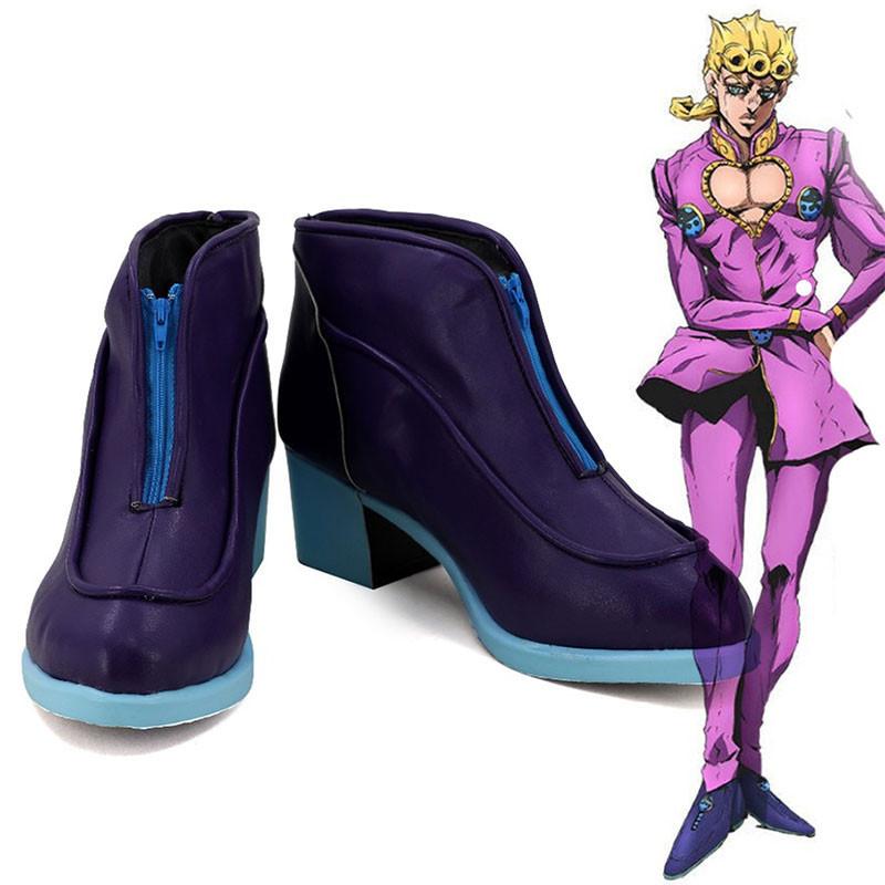 ジョジョの奇妙な冒険 ジョルノ・ジョバァーナ 道具 コスプレ靴 靴
