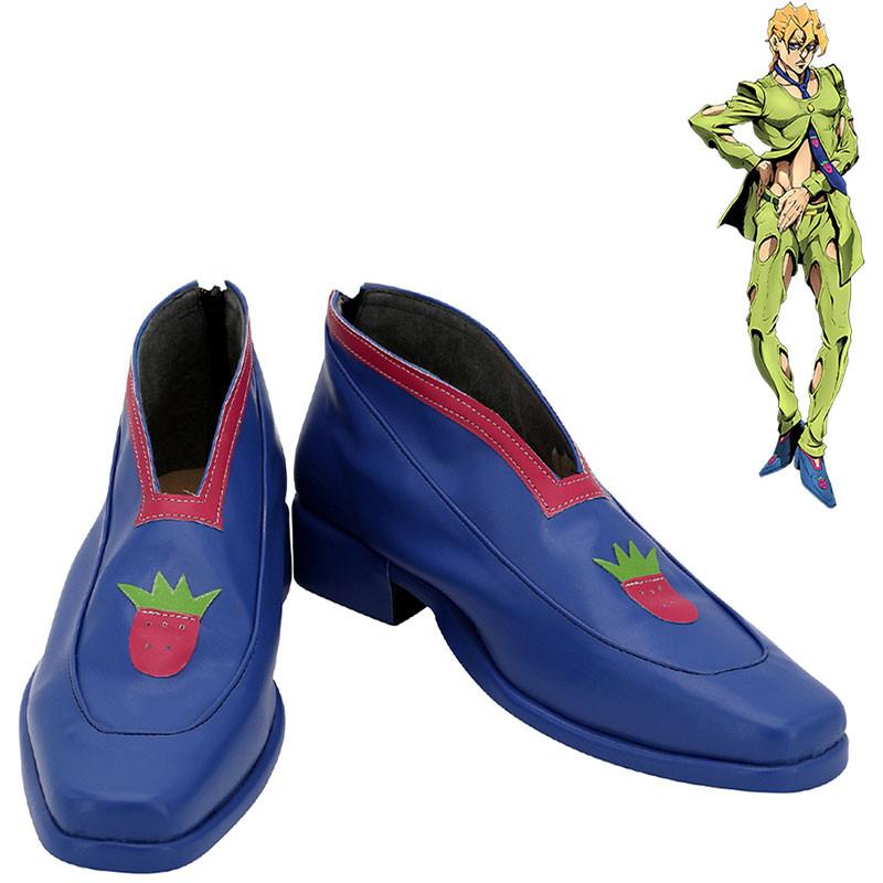 ジョジョの奇妙な冒険 コスプレ靴 パンナコッタ・フーゴ 道具 パープル・ヘイズ 靴