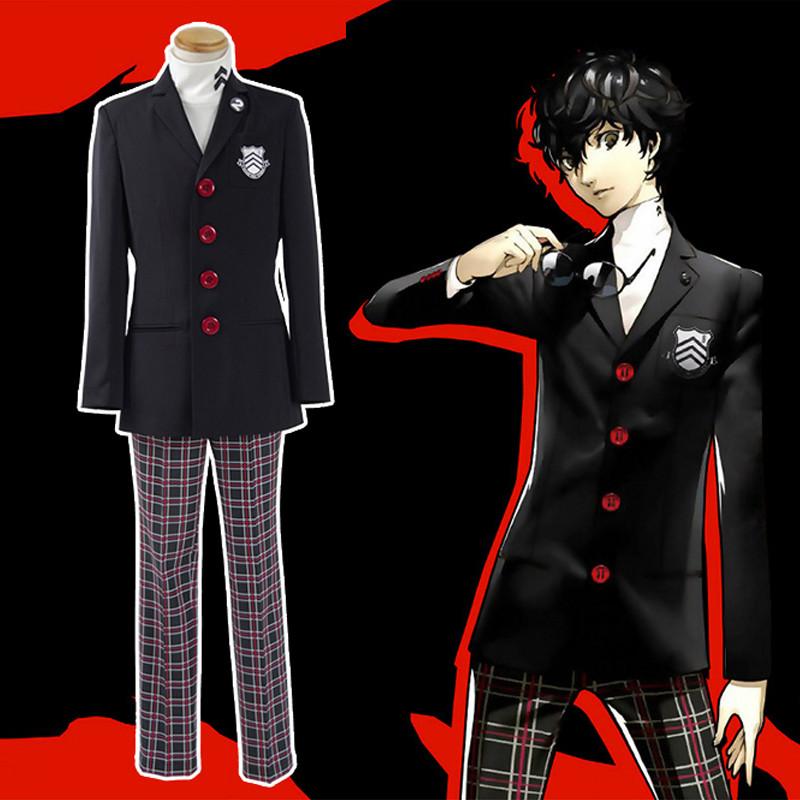 Persona5 ペルソナ5 ペルソナファイブ ジョーカー 制服風 高校制服 コスプレ衣装