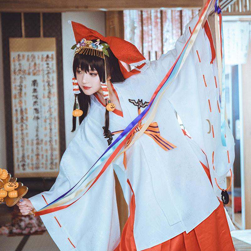 東方Project 博麗霊夢 夢>東方夢時空 幻>東方幻想郷 コスプレ衣装 ハロウィン 巫女