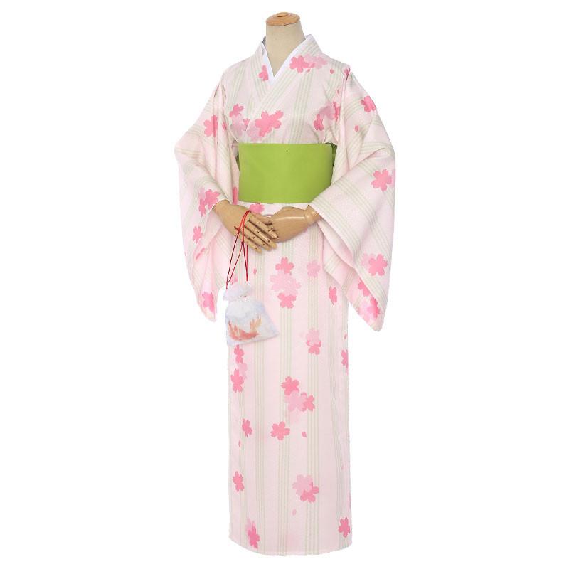 カードキャプターさくら 木之本桜 桜柄 着物 浴衣 花火大会 コスプレ衣装