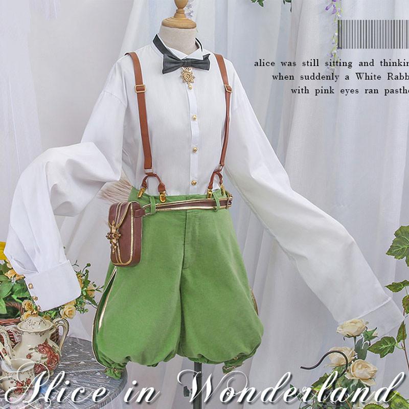 ボーカロイド VOCALOID 鏡音レン 鏡音リン&レン ミクチャン 不思議の国のアリス コスプレ衣装 コスチューム