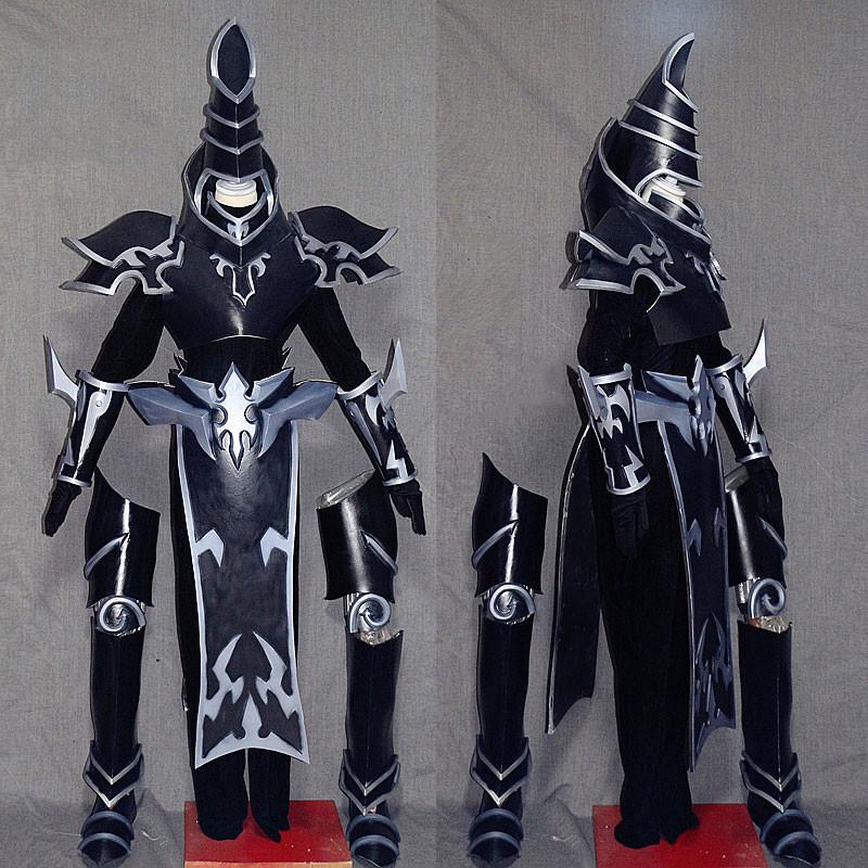 遊☆戯☆王 ブラック·マジシャン セット 武器付き ブラック コスプレ衣装 コスプレ道具