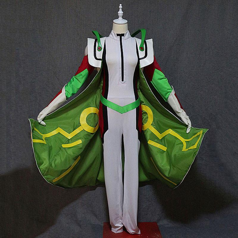 遊☆戯☆王VRAINS リボルバー オレンジ コスプレ衣装 セット