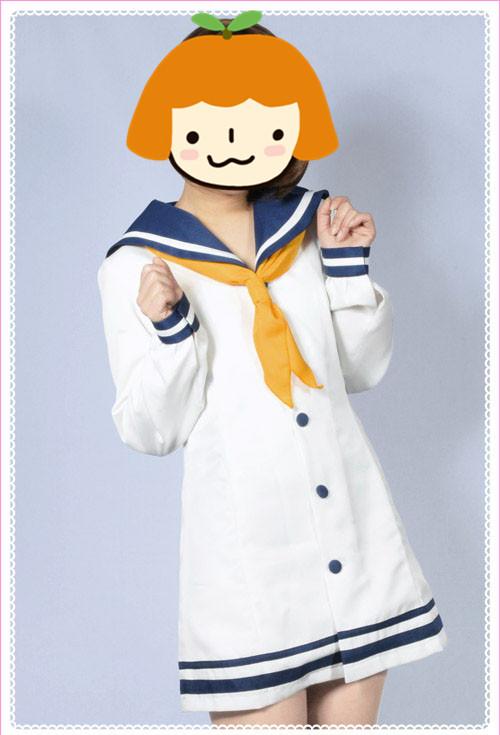 艦隊これくしょん~艦これ~ 陽炎型8番艦 雪風(ゆきかぜ)  時津風  コスプレ衣装 コスチューム 送料無料