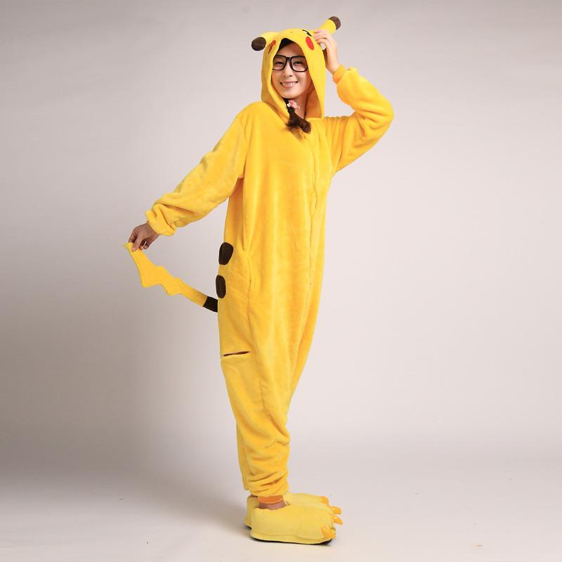 ポケットモンスター ピカチュウ パジャマ ジャンプスーツ コスプレ衣装