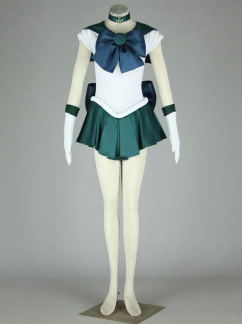 海王みちる 第2代の戦闘服 美少女戦士セーラームーン コスプレ衣装 6セット