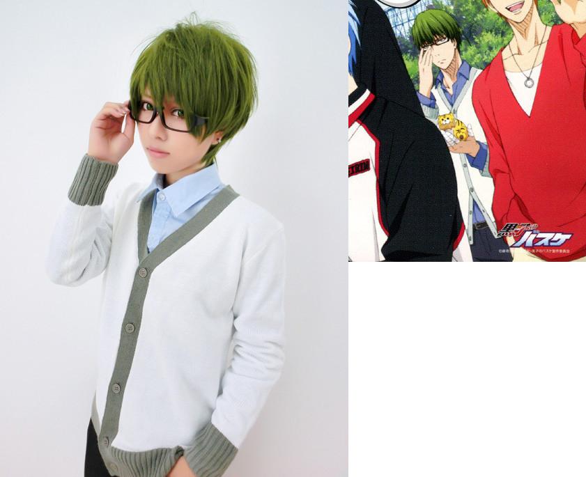 コスプレ衣装 黒子のバスケ 秀徳高校 緑間真太郎 セーター ホワイト