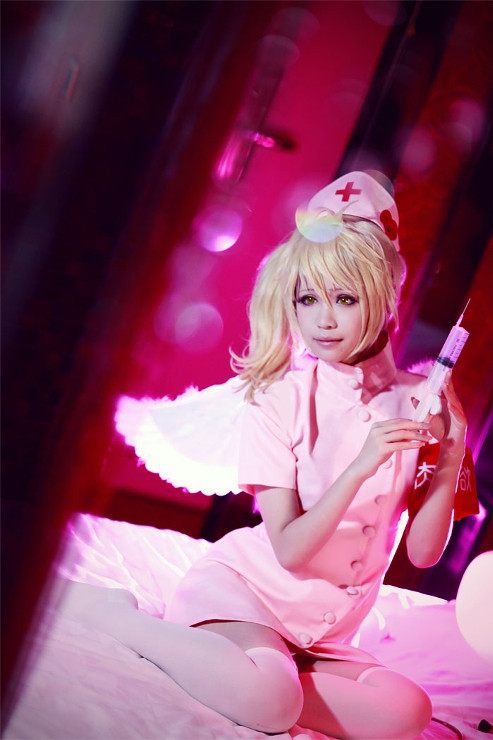 ZONE-00(ゾーン ゼロゼロ) 紅緒·吉祥(べにお·きっしょう) 10巻末ナース服  コスプレ衣装