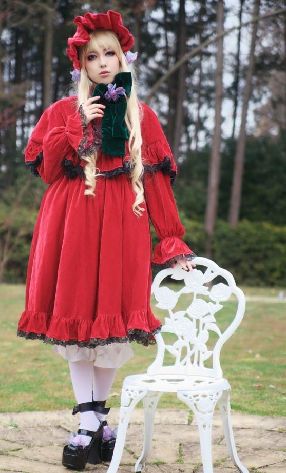 ローゼンメイデントロイメント 真紅コスプレ衣装