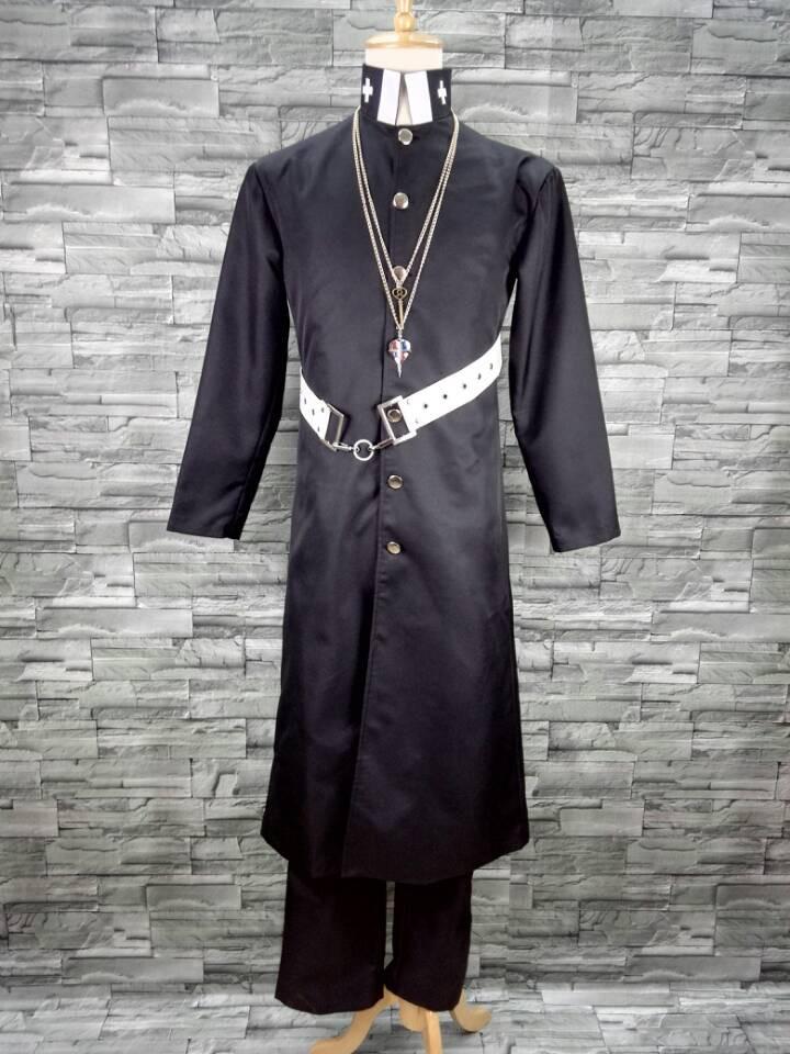 青の祓魔師 藤本獅郎(ふじもとしろう) コスプレ衣装 新品