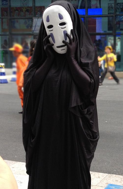 千と千尋の神隠し カオナシ マスク付き コスプレ衣装