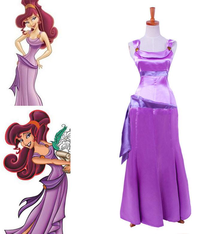 Disney ディズニー Hercules ヘラクレス メガラ メグ コスプレ衣装 ハロウィン