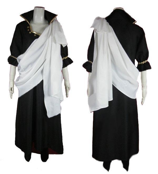 フェアリーテイル Fairy Tail ゼレフ Zeref  黒魔道士 コスプレ衣装 コスチューム