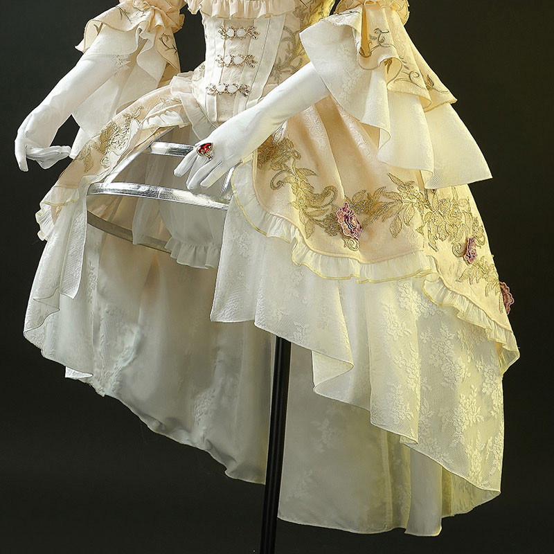 【おすすめ】Identity V 血の女王 血祭り コスプレ衣装 マリー 洋服