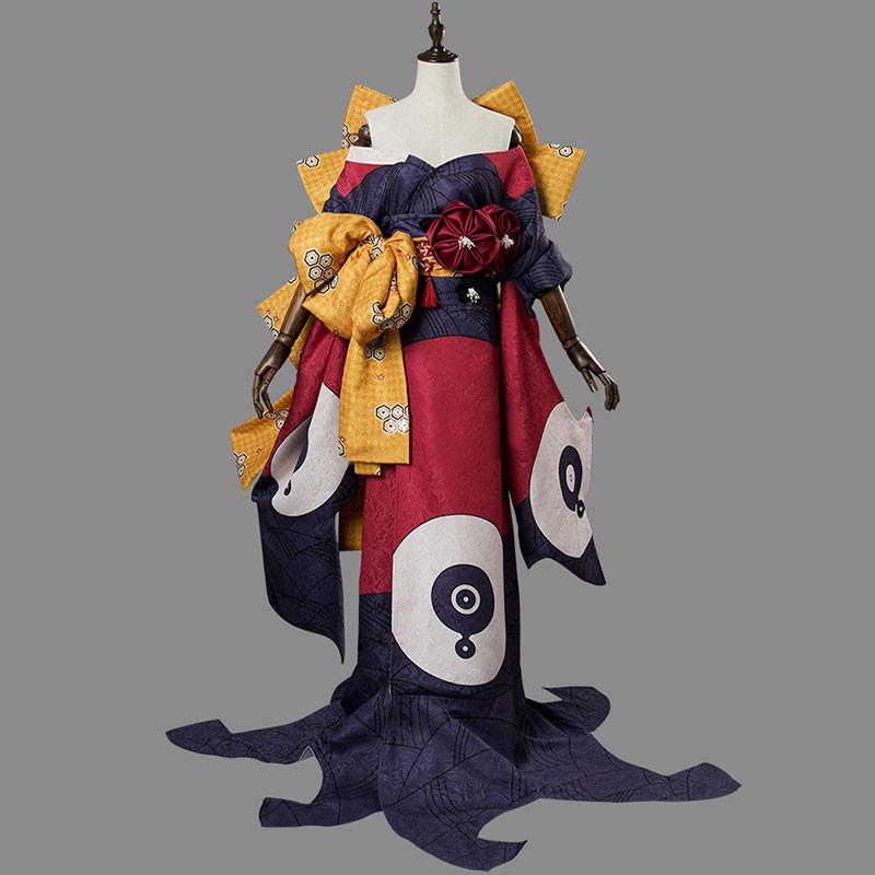 フェイトグランドオーダー FGO 葛飾北斎 第二段階  コスプレ衣装