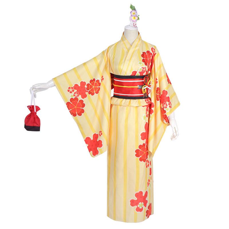 FGO 夏祭り マシュ・キリエライト 着物 コスプレ衣装