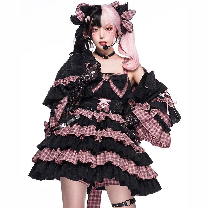 【おすすめ】perro cat クラロリ ワンピース ジャンパースカート