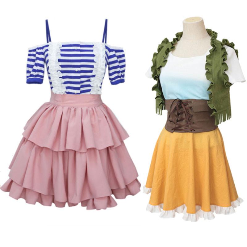 彼女、お借りします 七海麻美 可愛 ドレス 日常服 仮装 コスチューム