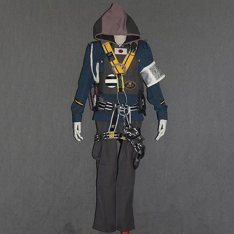 レインボーシックス  シージ Rainbow Six Siege 火花 HIBANA コスプレ衣装 セット R6S