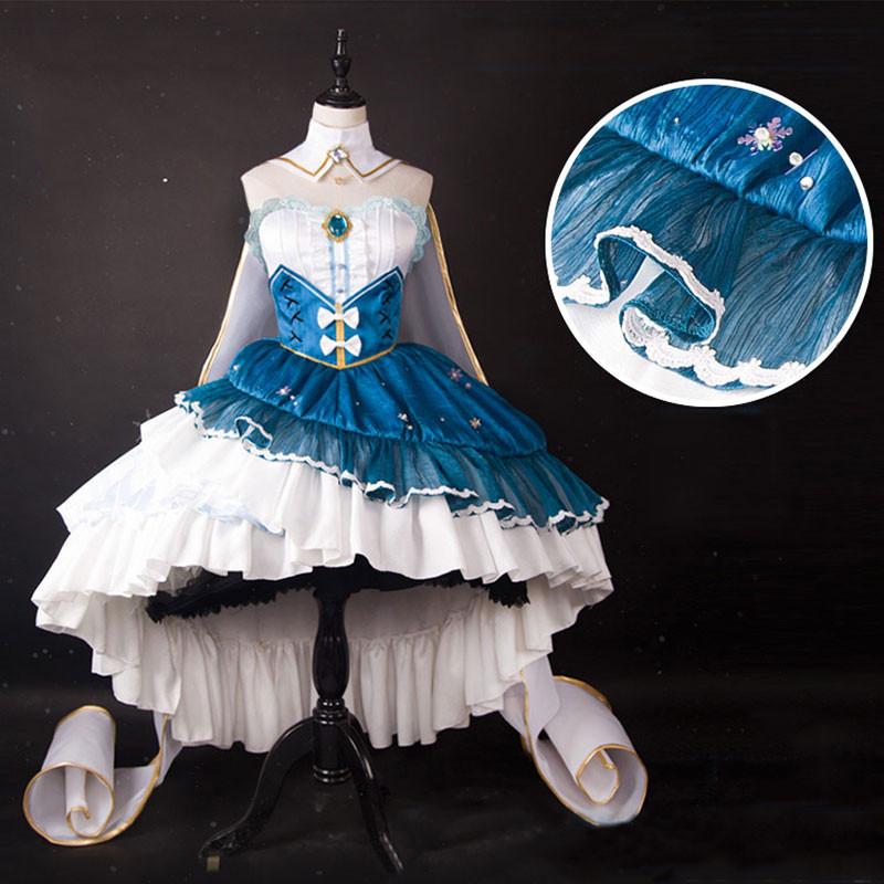 VOCALOID ボーカロイド  SNOW MIKU 2019 雪ミク 初音ミク コスプレ衣装 白色