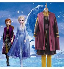 アナと雪の女王 ディズニー Disney アナ Anna コスプレ衣装