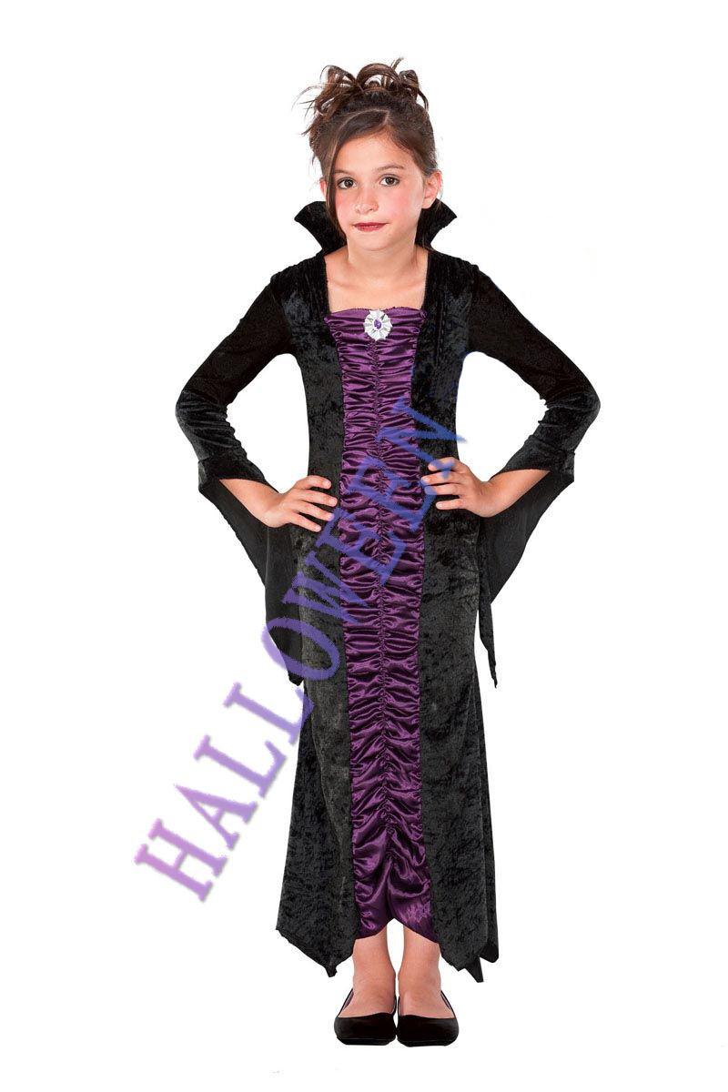 ハロウィン ビクトリア吸血鬼 子供用 コスプレ コスチューム