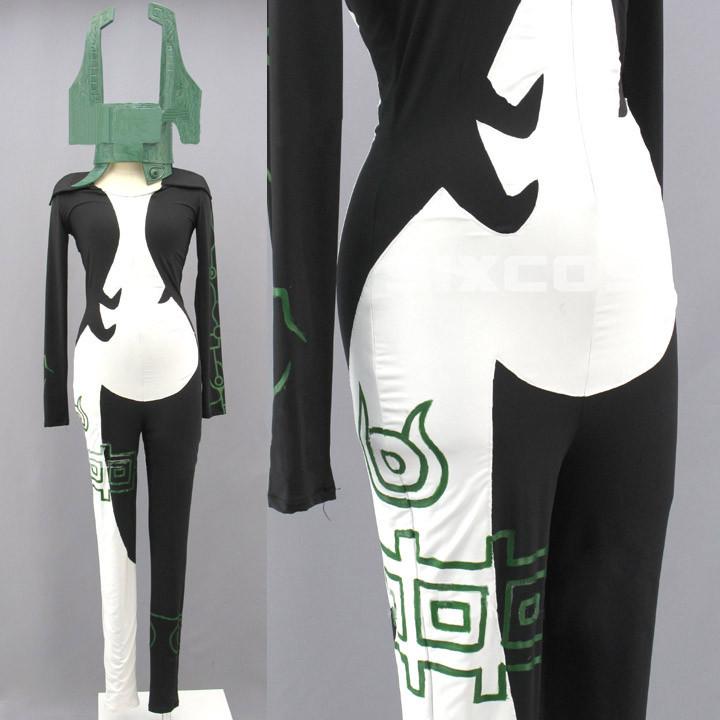 ゼルダの伝説 トワイライトプリンセス ミドナ風 コスプレ衣装