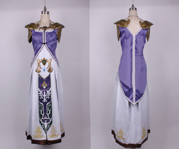 ゼルダの伝説 ゼルダ姫 コスプレ衣装
