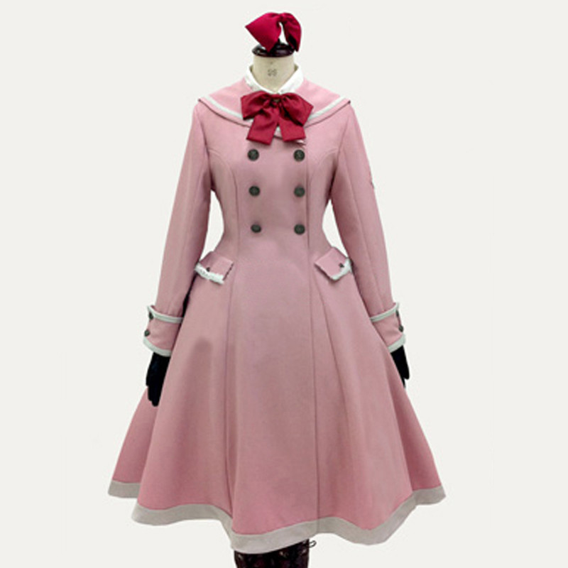 Axis Powers ヘタリア(APH) モナコ ラベンダー コスプレ衣装