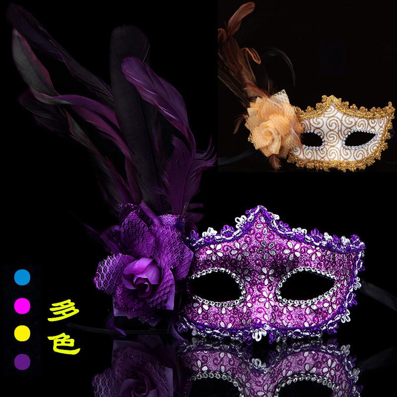 マスク ローズお面 ハロウィン コスプレ 道具 ハロウィン 仮面イベント パーティー カラーお面