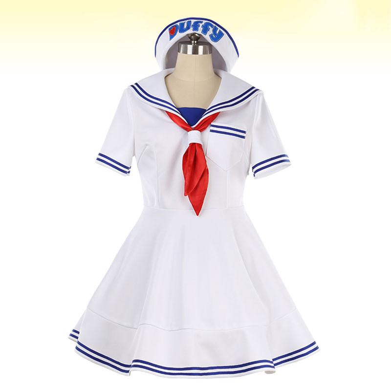 ディズニー Disney シェリーメイ ShellieMay おしゃれ 白 ドレス 変装 コスプレ衣装