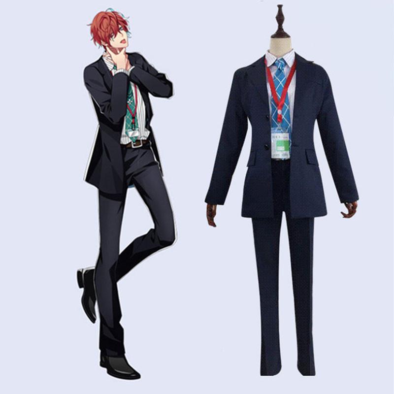 ヒプノシスマイク-Division Rap Battle- 観音坂 独歩  日常服 コスプレ衣装 制服風