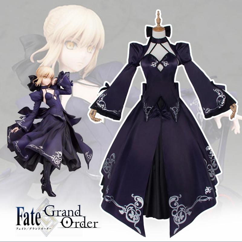 Fate/Zero Fate/stay night  セイバー せいばー Saber コスプレ衣装